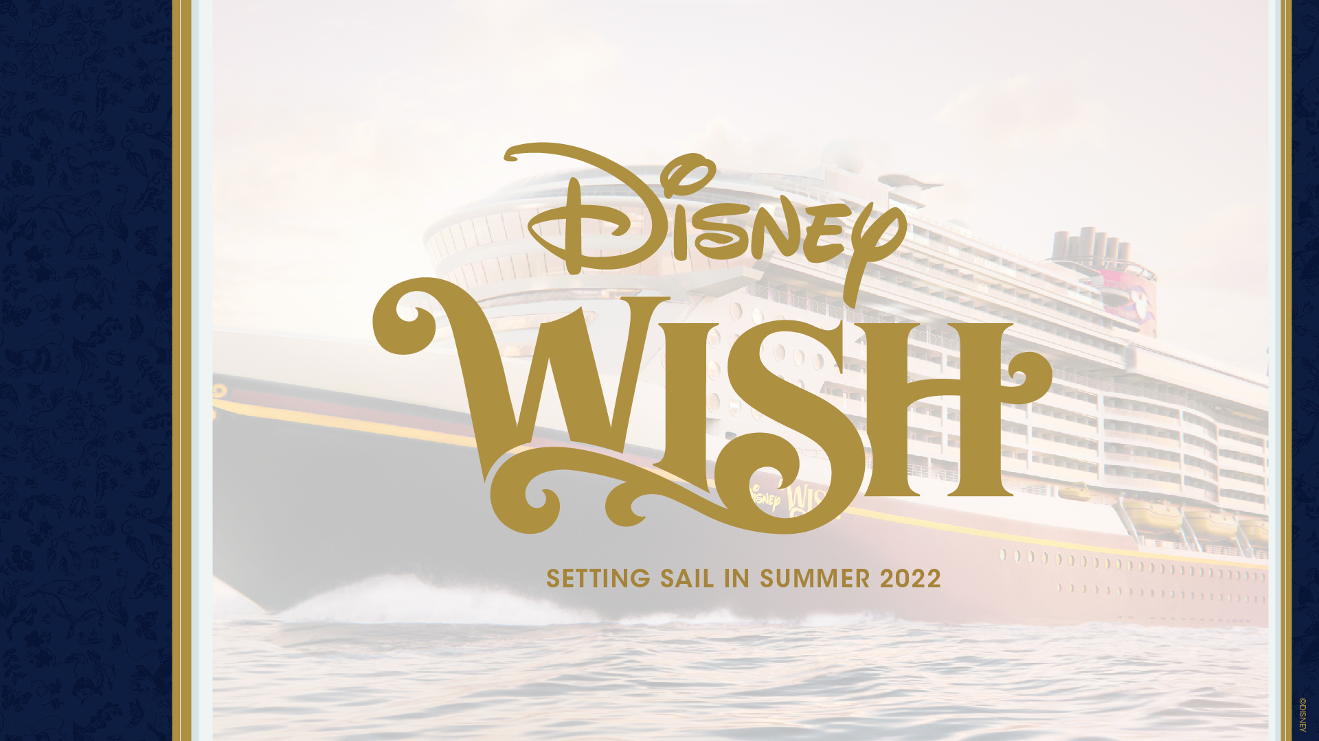 Disney Cruise Line Unwraps